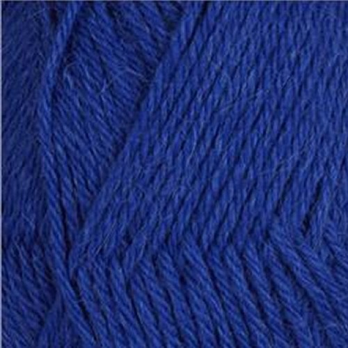 100% Alpaca 3-draads 500 gram Kings Blue