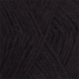 100% Alpaca 3-ply 500 gram Brown Black