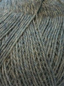 100% Alpaca 3-ply Grey mix 50 gram