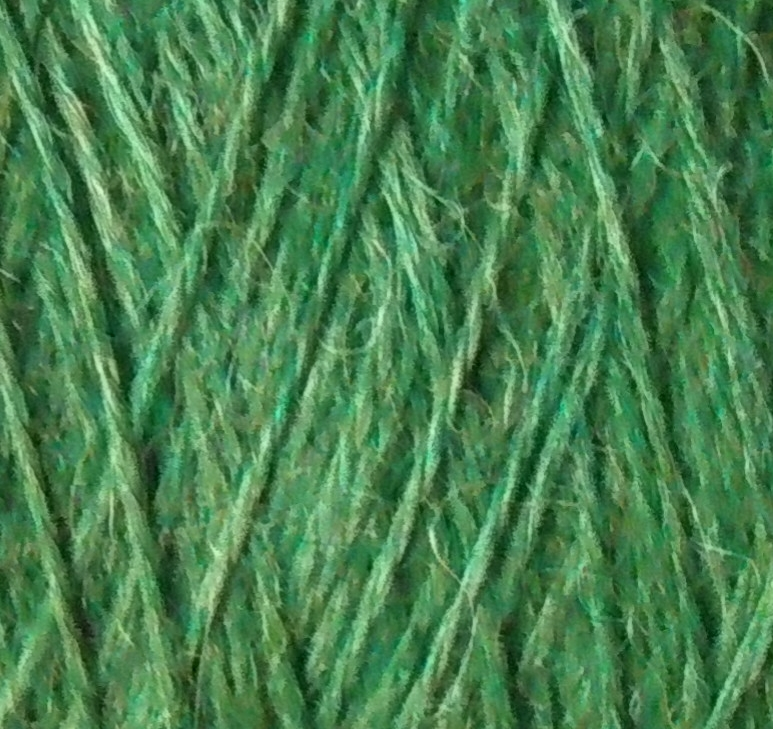 100% Baby Alpaca 1 Kg Green mix 2/16Nm