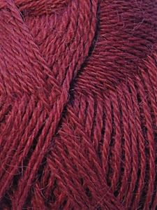 100% Baby Alpaca 1 Kg Burgundy Purple 2/16Nm