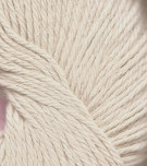 100% Baby Alpaca 4-ply White (natural) cone 400 gram