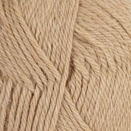 100% Alpaca 3-ply 500 gram Beige Cafe Latte (natural)